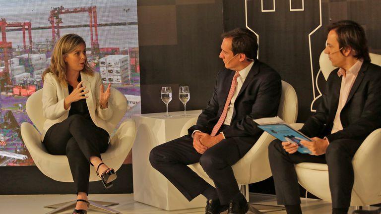 Rosario Algelt, Ceo LATAM, Matías Videla, Jumbo Retail y José del Río