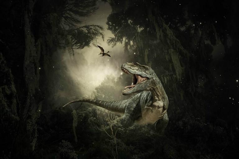 El impacto del asteroide provocó la extinción del 75% de la vida, incluidos todos los dinosaurios no aviares