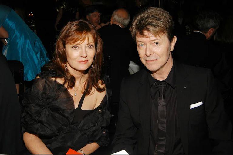 Susan Sarandon recordó a David Bowie y el romance que los unió en los 80