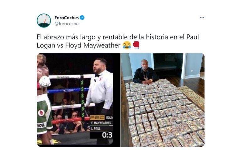 Mayweather se llevó una gran cantidad de dinero por este combate