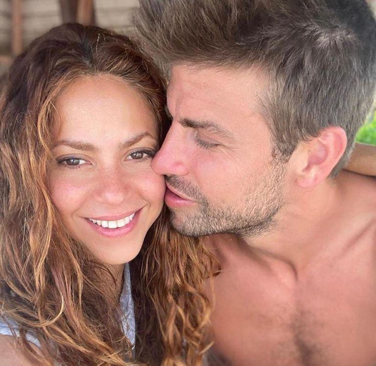 La cantante colombiana celebró que su marido salude a Milan después de marcar el 2-1. Crédito: Instagram