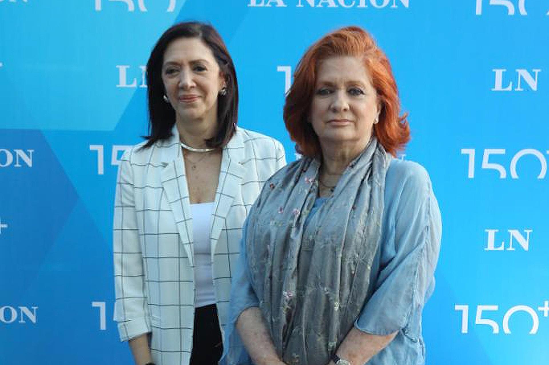 Adriana Vaccaro, del Correo Argentino y Teresa González Fernández, presidenta de ALPI