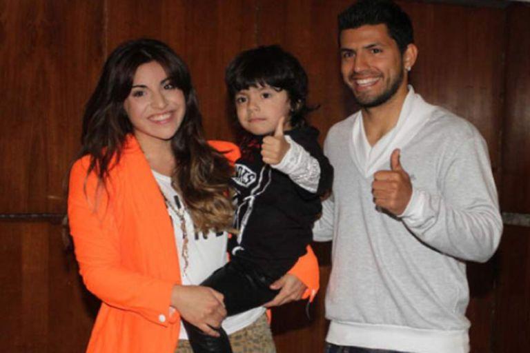 El Kun Agüero no invitó a su hijo al festejo de su cumpleaños y Gianinna estalló
