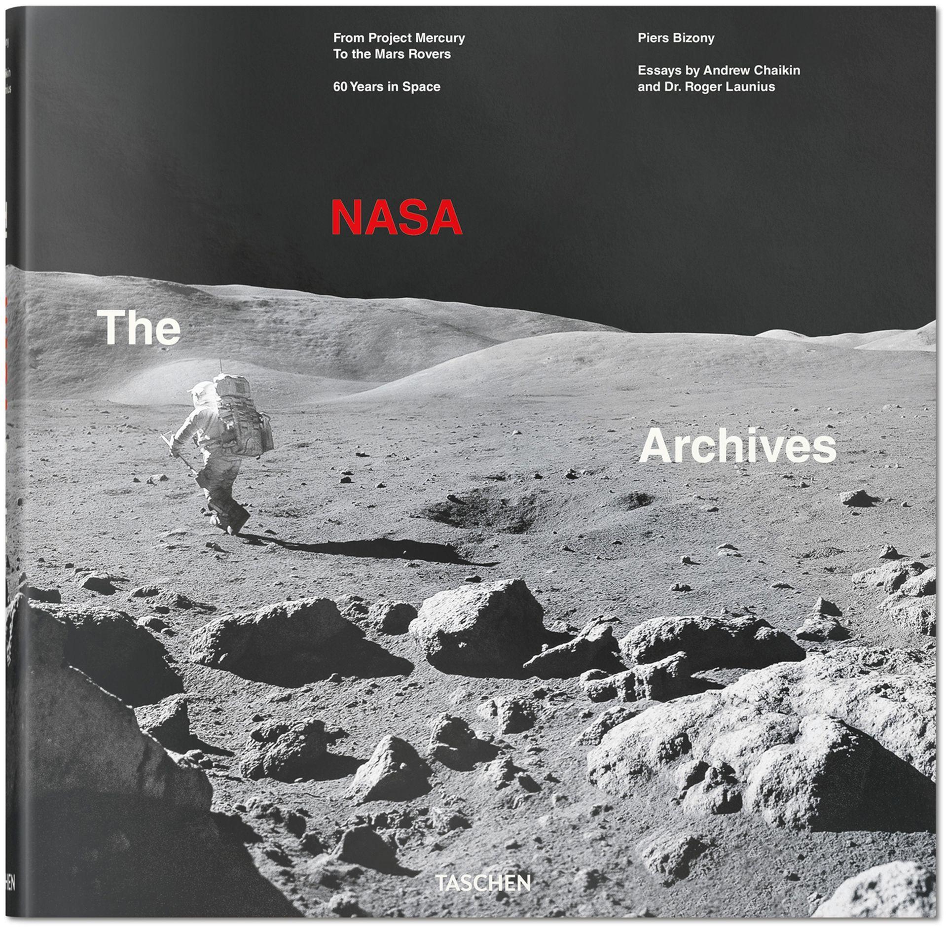 La publicación de Taschen ofrece más de 400 imágenes de la conquista del espacio