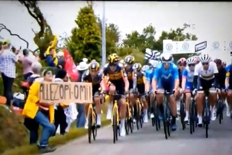 Tour de Francia: la espectadora que provocó la caída multitudinaria rompió el silencio