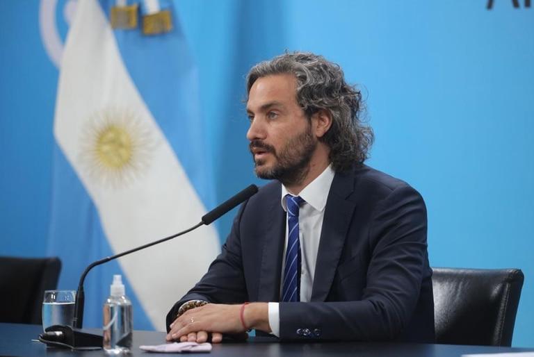Santiago Cafiero habló del inicio de clases