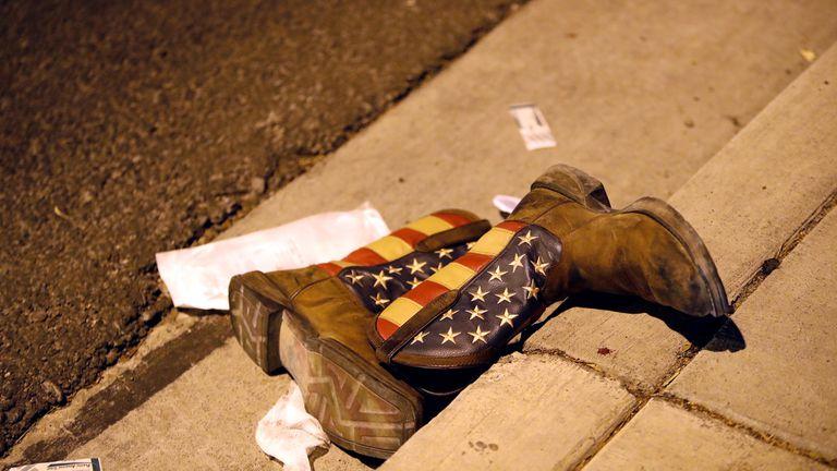 En fotos: tiroteo en Las Vegas