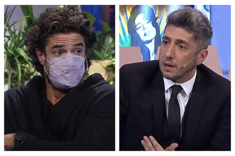 Luciano Castro descolocó a Jey Mammon con una filosa respuesta en vivo