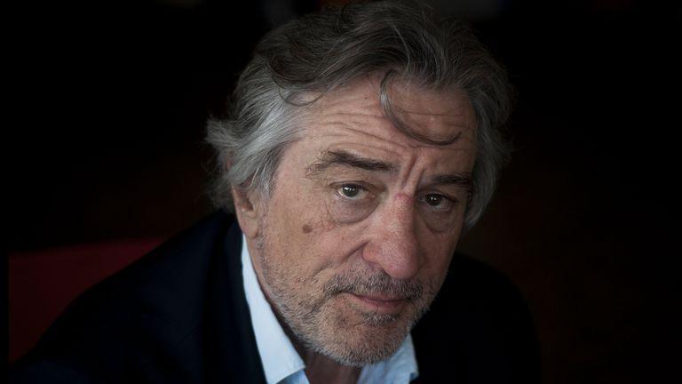 Robert De Niro, otra cara que sumará Netflix a su abanico de propuestas