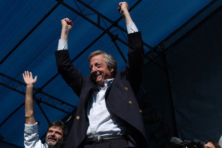 En mayo de 2007 el presidente Néstor Kichner acompañaba a Daniel Filmus en su campaña por la jefatura de gobierno porteño