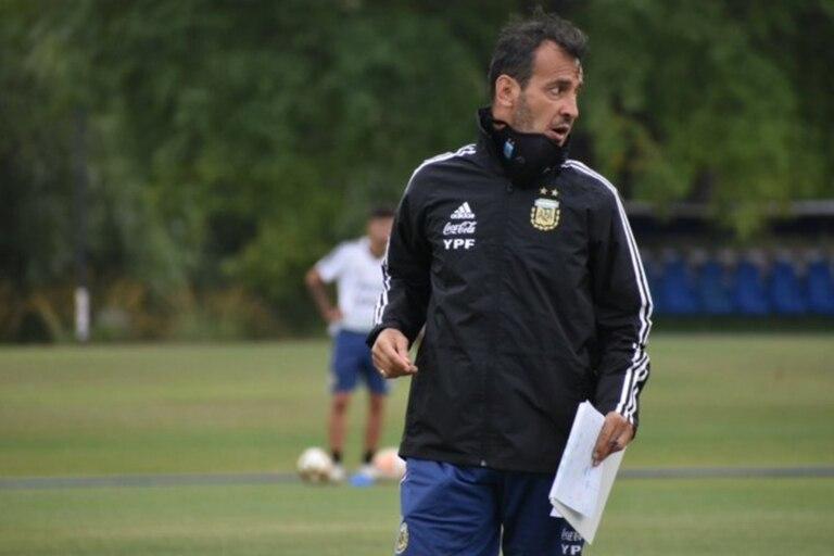 Fernando Batista, el entrenador del Sub 20 argentino