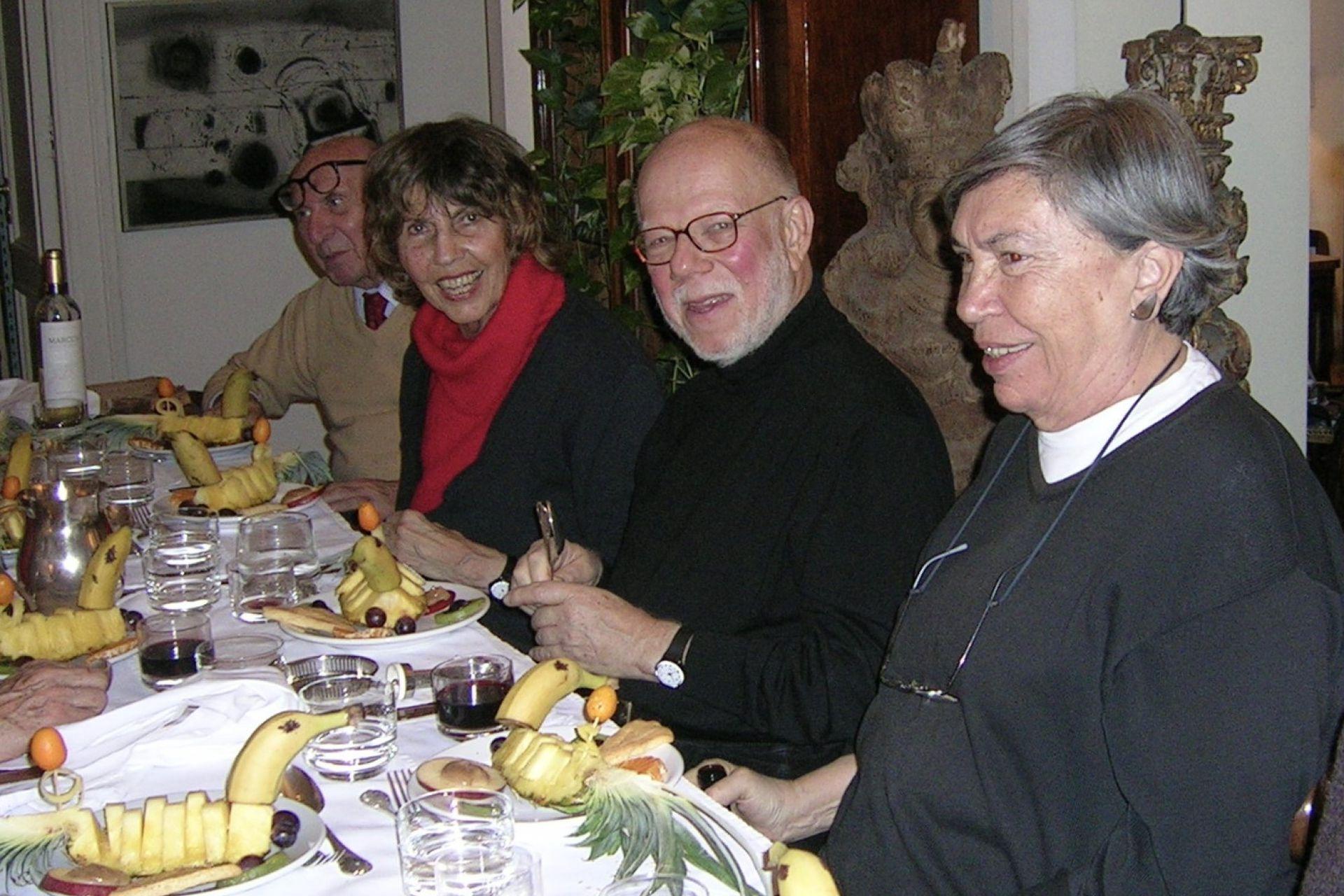 Giselle Graci, Jorge Helft y Josefina Robirosa