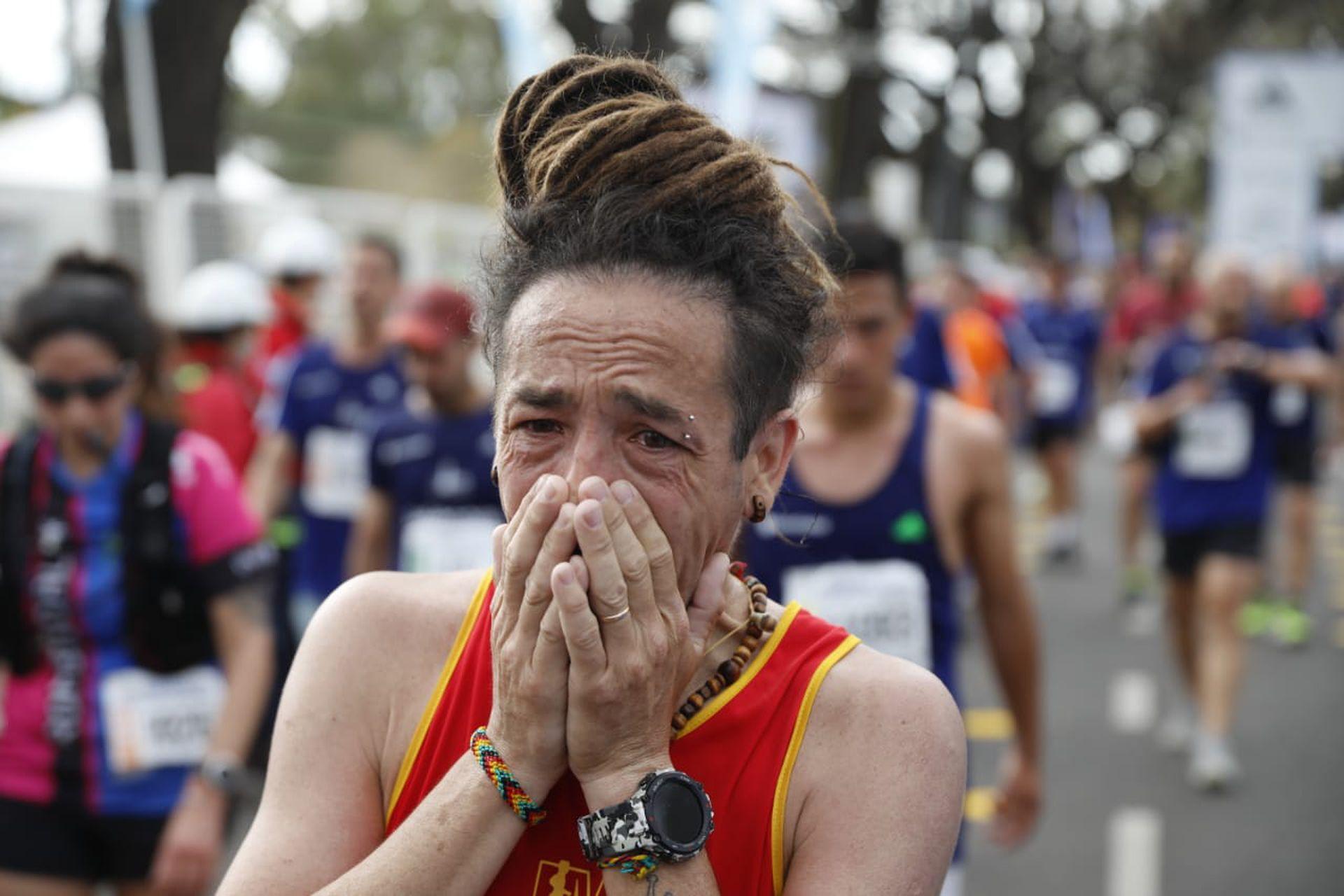 Maratón Buenos Aires 21 y 42k. Llegada