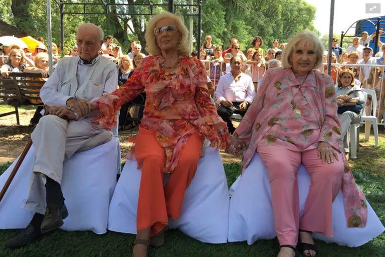 En marzo de 2018, durante un homenaje que los hermanos Martínez Suárez recibieron en Villa Cañás