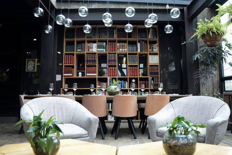 El interior de El Chato, un restaurante que no para de crecer