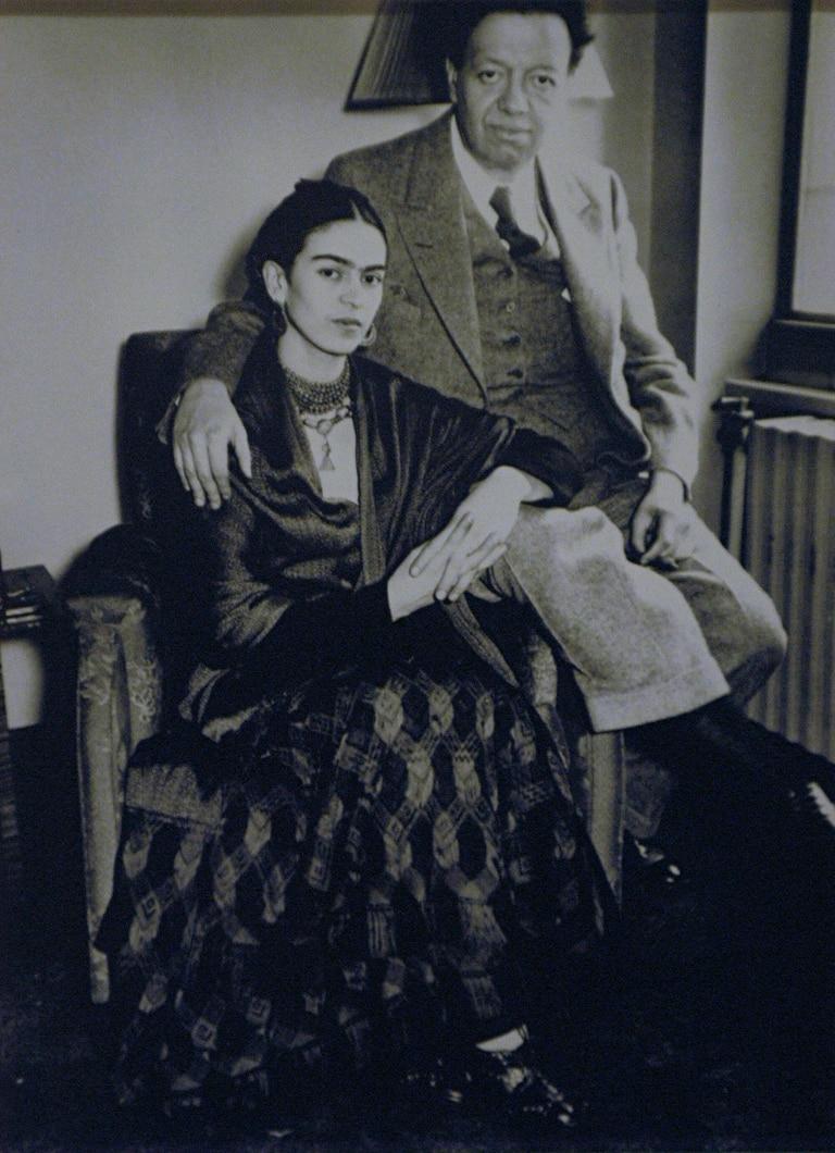 La historia de la pintora mexicana Frida Kahlo (1907-1954) y su esposo, el también pintor mexicano Diego Rivera (1886-1957), es una de las que se abordará en el curso sobre parejas de artistas que dará el MACBA