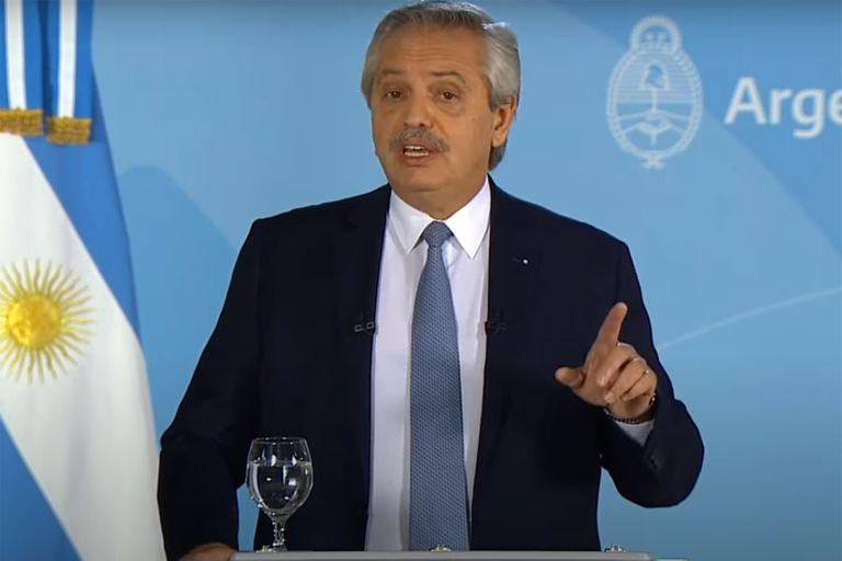 """Alberto Fernández, sobre la asunción de Pedro Castillo: """"Crearon sobre él fantasmas parecidos a los que intentaron crear sobre nosotros"""""""