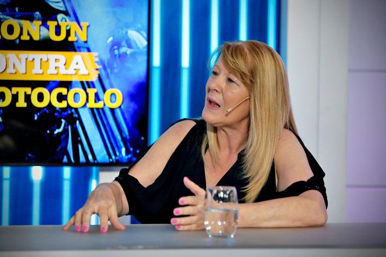 """Margarita Stolbizer: """"No sabía que Jesús Cariglino iba a estar en la lista"""""""