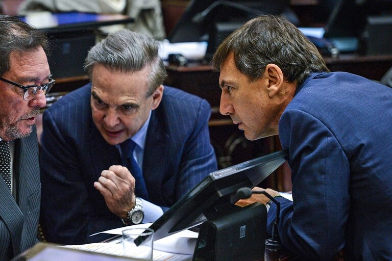 El senador Pichetto encabeza una reunión con gobernadores del PJ y podrían impulsar cambios en el proyecto que se aprobó la semana pasada en Diputados