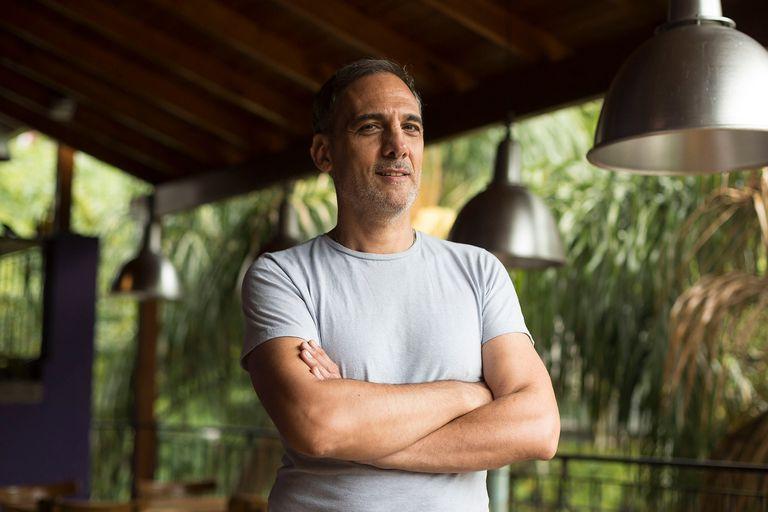 Fabio Aste, un actor que le puso el pecho a la cuarentena