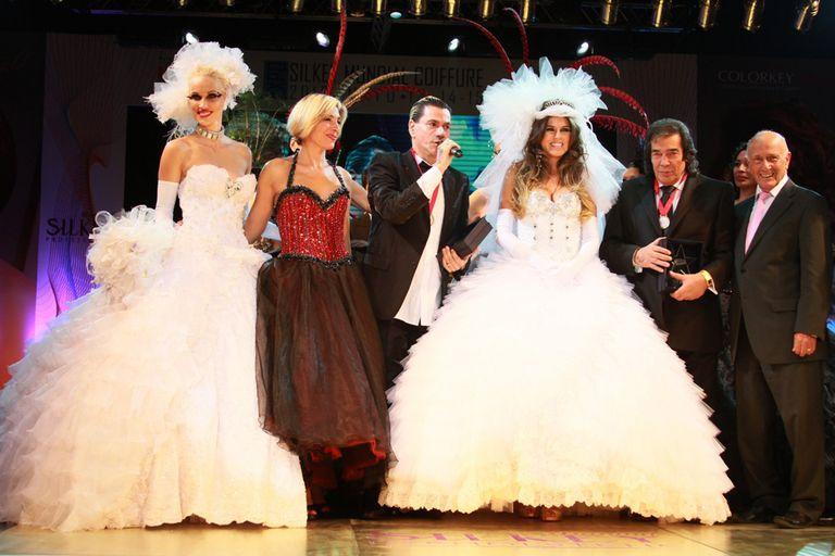 Mariana Antoniale, vestida de novia para cerrar la nueva colección de Roberto Piazza