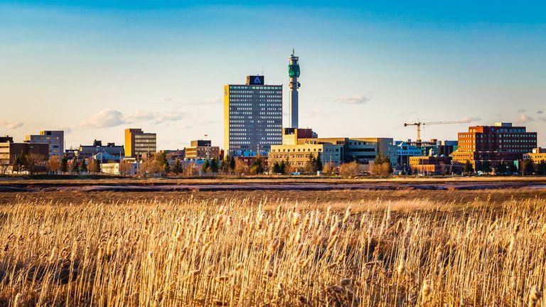 Moncton es la ciudad más grande de la provincia de New Brunswick
