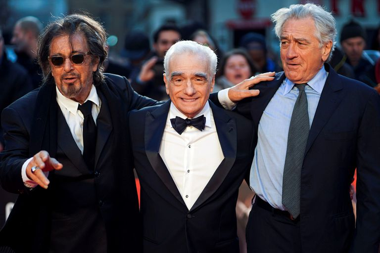 """Robert De Niro y Al Pacino: """"El Irlandés completa nuestro círculo profesional"""""""