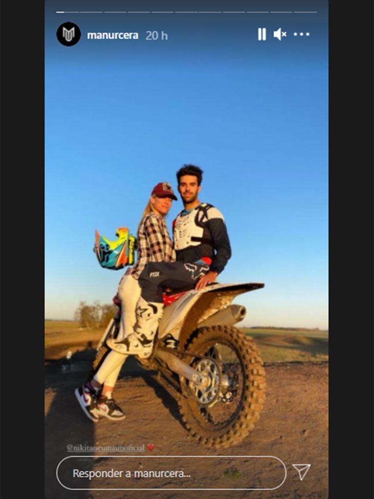 La foto con la que Manu Urcera y Nicole Neumann blanquearon su romance