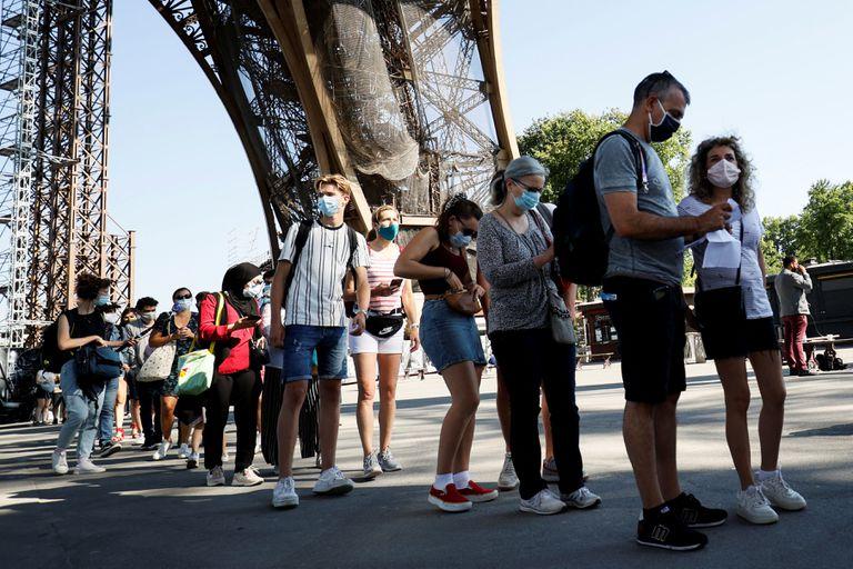 La Torre Eiffel reabrió tras el cierre más largo desde la Segunda Guerra