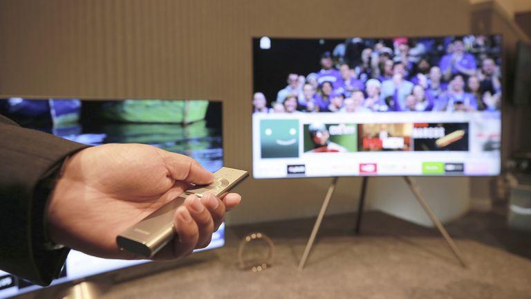 La nueva pantalla de Samsung en versión caballete