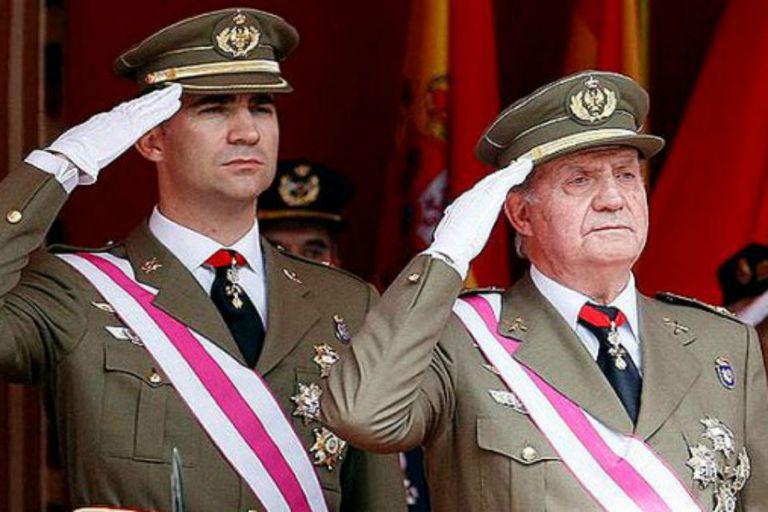 El actual rey Juan Carlos I no estará en la asunción de su hijo como nuevo monarca