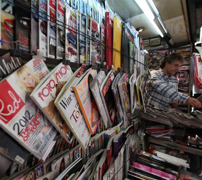 El quiosco de Alvear y Ayacucho importa revistas