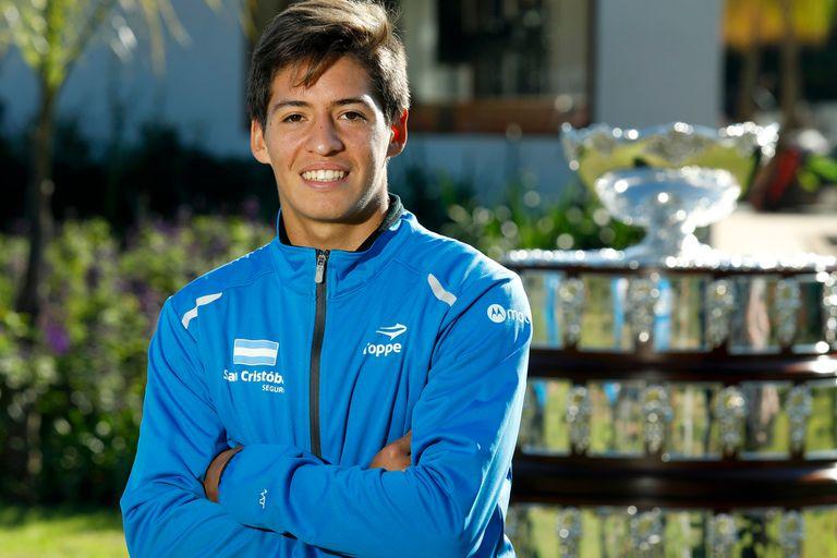 Sebastián Báez, el argentino que es desde hoy el nuevo número 1 del mundo junior