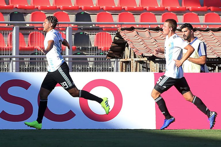 Sudamericano Sub 20: la Argentina le ganó a Perú y avanzó al hexagonal final