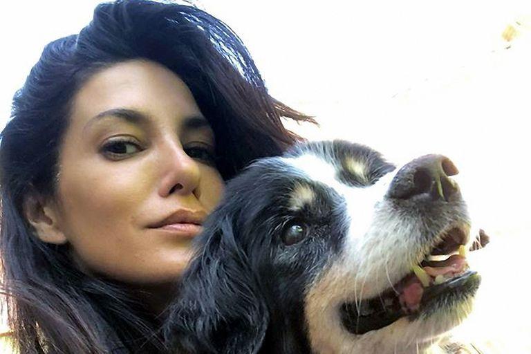 El dolor de Silvina Escudero por la muerte de su perra Gitana