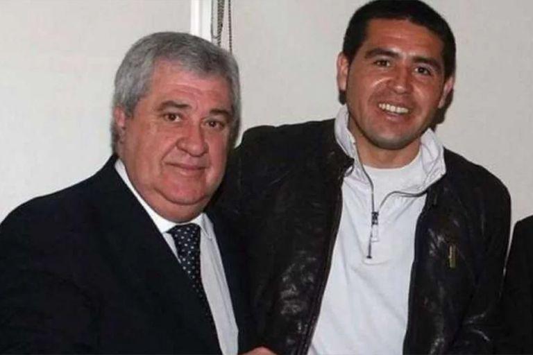 Ameal y Juan Román Riquelme, vicepresidente del club