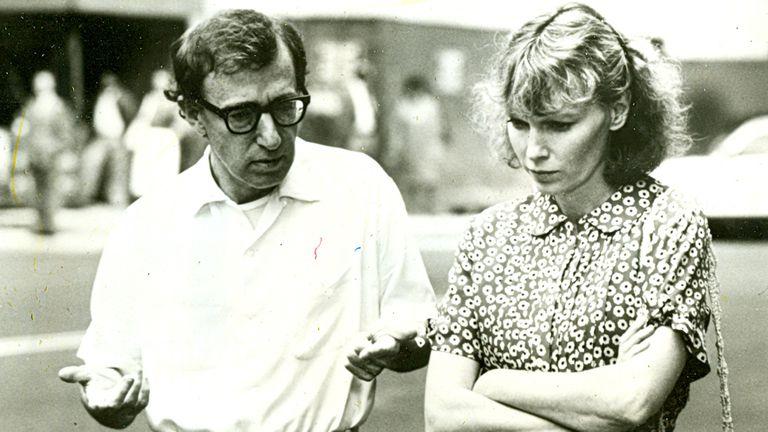 Allen y Farrow: de la pareja perfecta de la intelectualidad a enemigos íntimos