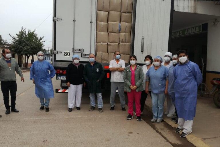 Ayudando te Ayudás: la exitosa campaña del COAS para enfrentar la pandemia