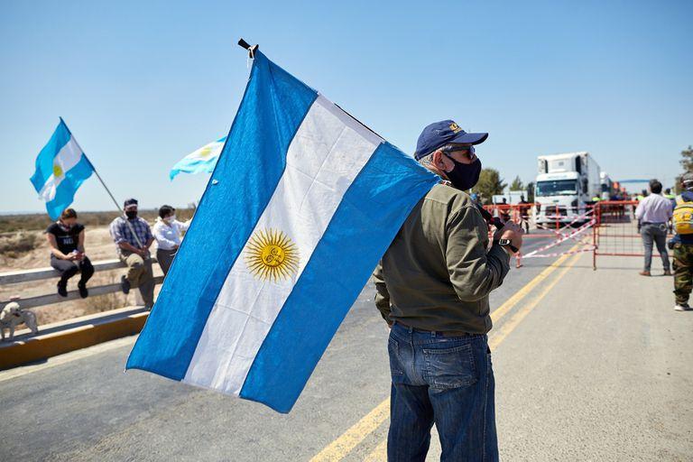 """Rodríguez Saá sobre los cortes de ruta del campo: """"No nos van a torcer el brazo"""""""
