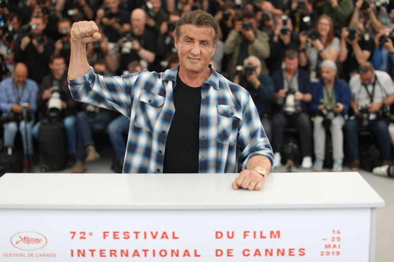 Cannes 2019: reivindicado, Stallone llegó al festival para presentar Rambo V