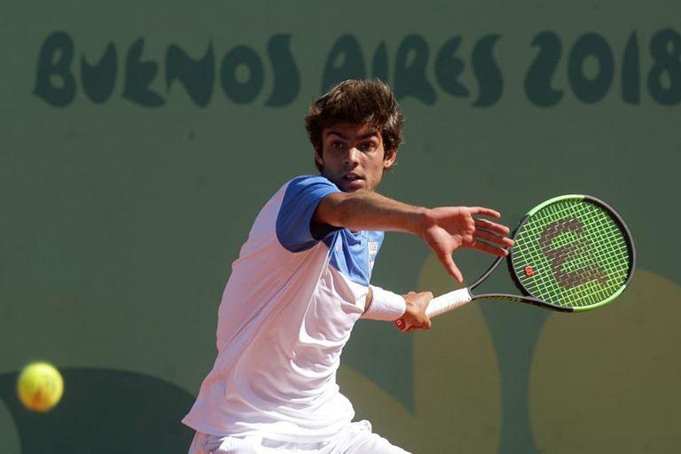 Facundo Díaz Acosta, el tenista argentino que sorprendió
