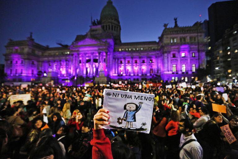 Femicidio. Siete de cada 10 homicidios de mujeres fueron por violencia de género