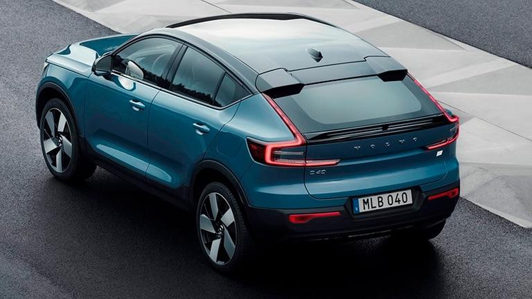 Volvo presentó su nuevo auto eléctrico, el C40