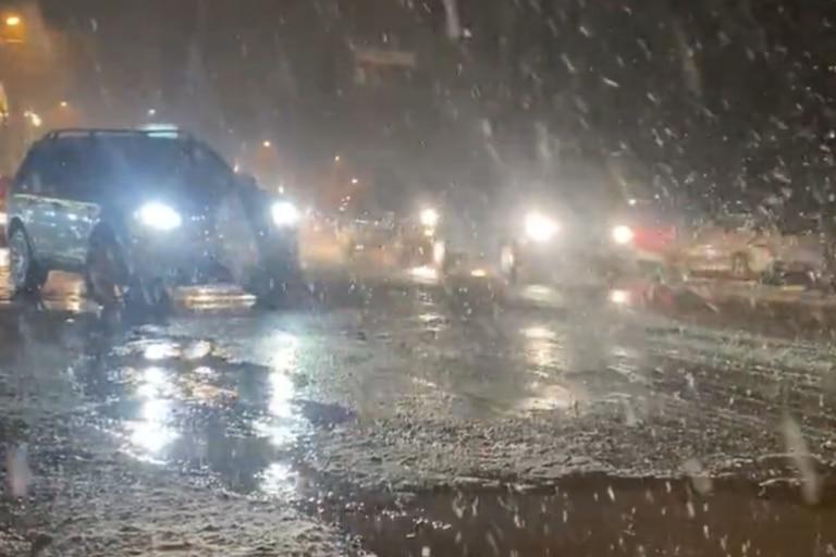 Nevó y se registraron temperaturas bajo cero en varias ciudades del sur