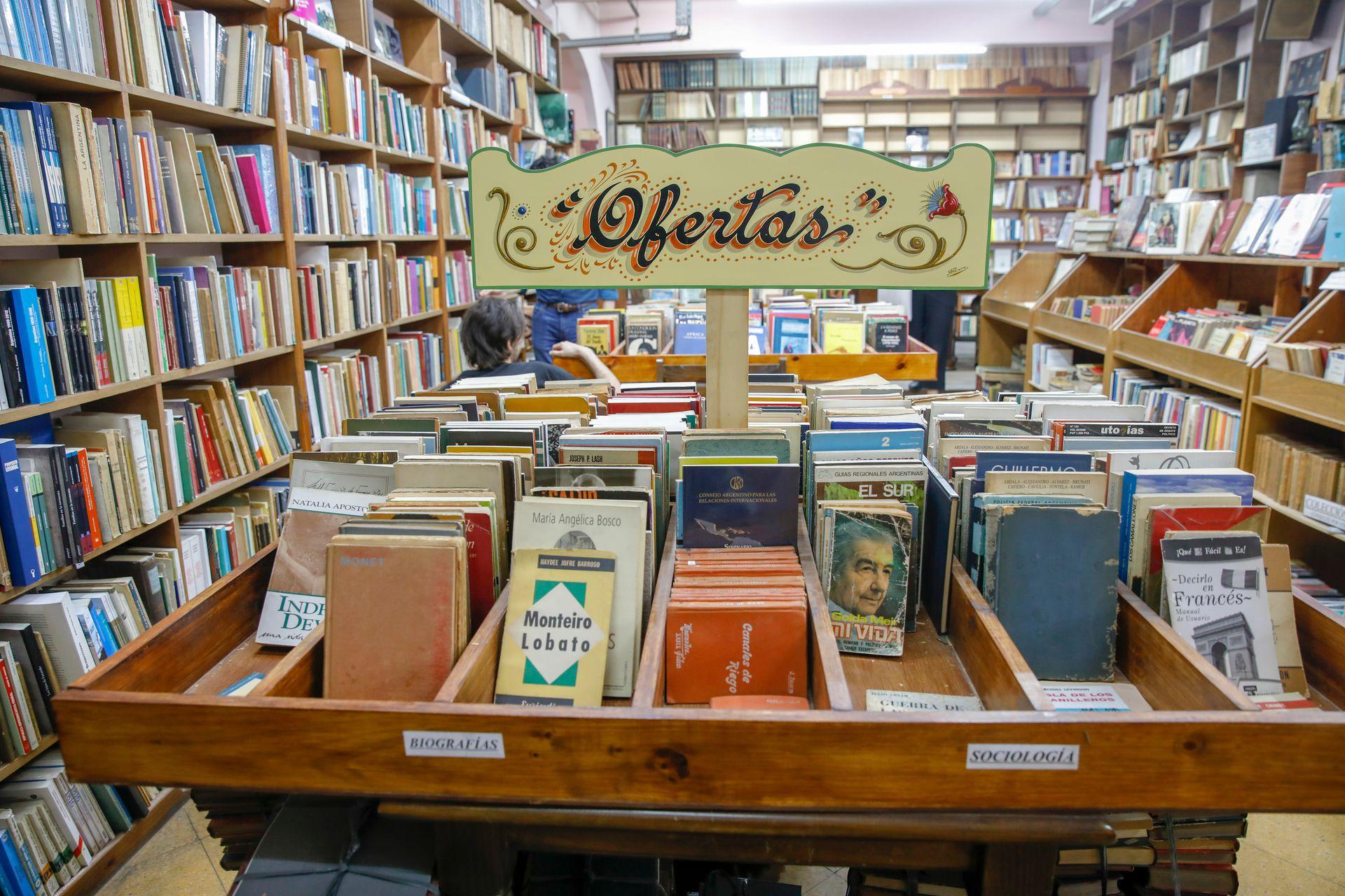 Algunos libros en oferta