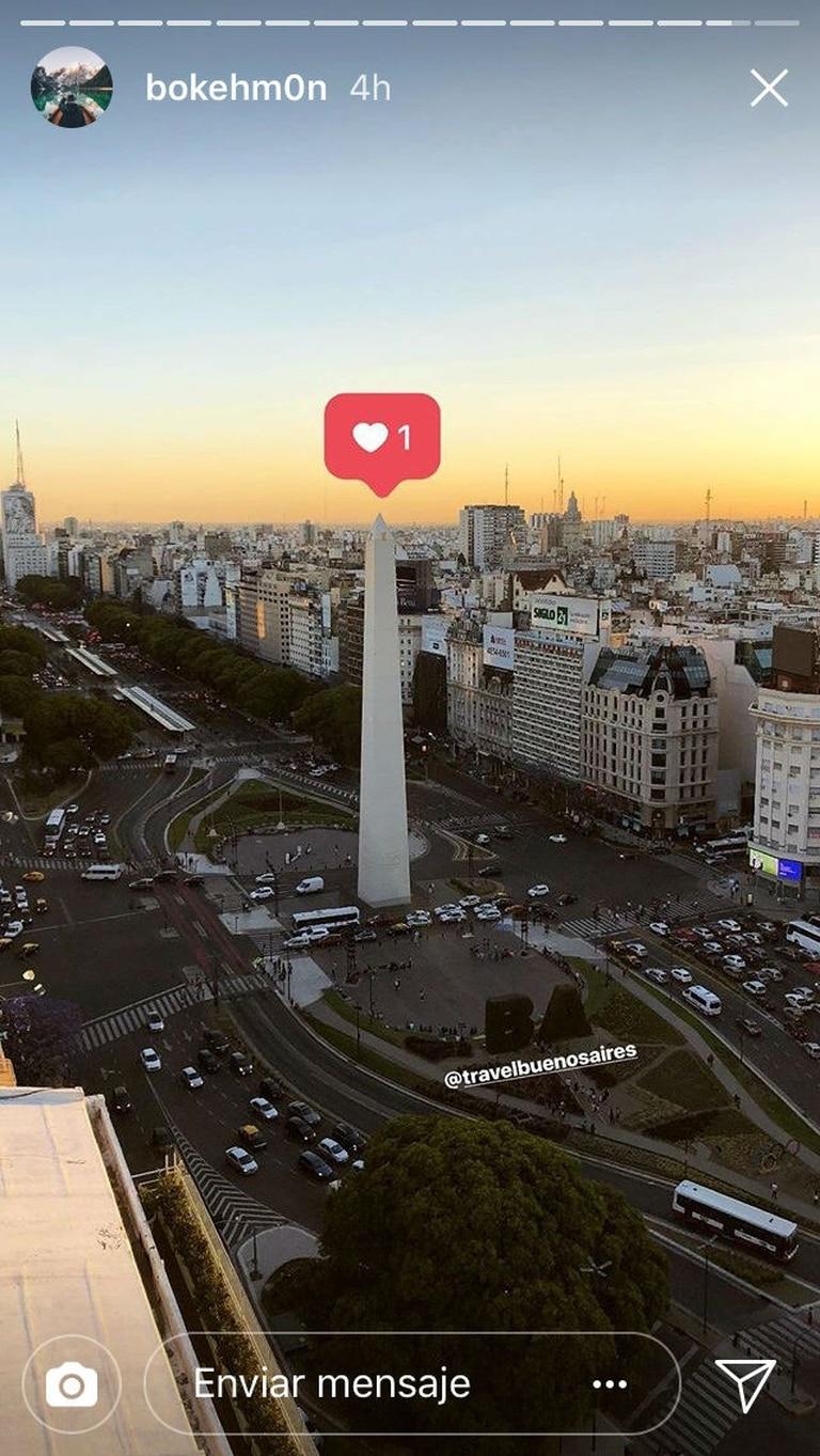 El Obelisco tiene un like