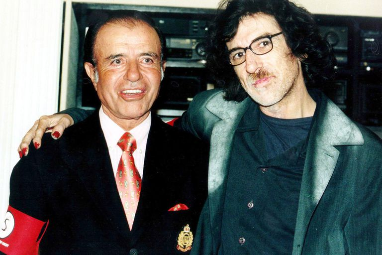 Carlos Menem, un presidente fascinado con el mundo del espectáculo