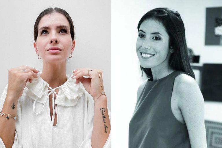 La China Suárez se hizo un tierno tatuaje en honor a su amiga Sofía Sarkany
