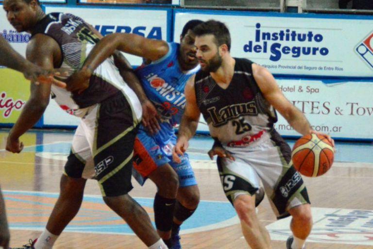 Lanús le ganó a Sionista y se quedó en la Liga Nacional