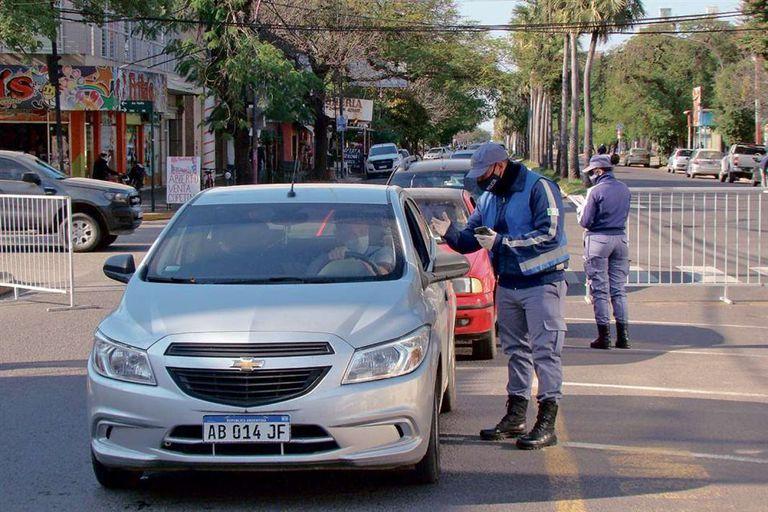 Controles policiales en Chaco